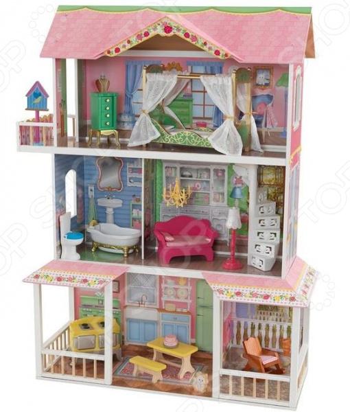 Кукольный дом с аксессуарами KidKraft «Карамельная Саванна»