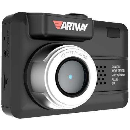 Купить Видеорегистратор с радар-детектором Artway MD-107 3 in 1 Signature Combo