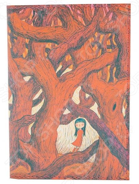 Обложка для автодокументов кожаная Mitya Veselkov «В красном кустарнике» обложка для автодокументов кожаная mitya veselkov шб