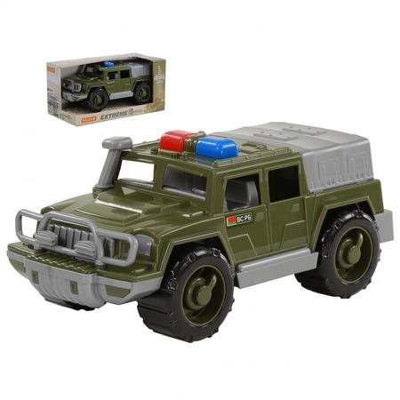 Купить Машинка игрушечная POLESIE «Джип военный патрульный. Защитник» №1