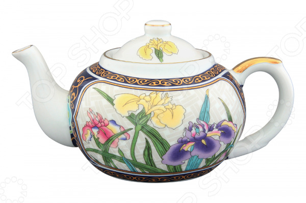 Чайник заварочный с ситом Elan Gallery «Ирисы»