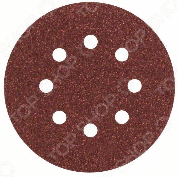 Набор дисков шлифовальных Bosch 2608605070 набор шлифовальных листов bosch 2609256b41