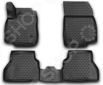 Комплект 3D ковриков в салон автомобиля Novline-Autofamily Ford B-MAX 2013 комплект 3d ковриков в салон автомобиля novline autofamily ford tourneo custom 2013 2014
