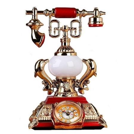 Купить Часы-светильник настольные «Ретротелефон» с будильником