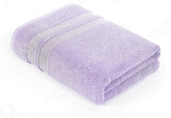 Полотенце махровое Verossa Constante Reticolo. Цвет: светло-сиреневый полотенце ecotex лайфстайл 70x130 светло сиреневый t 02 l светло сиреневый