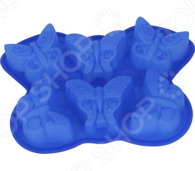 Форма для выпечки силиконовая Bekker «Бабочки»