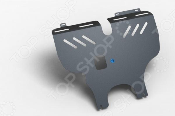 Комплект: защита картера и крепеж Novline-Autofamily BYD F3, F3-R 2005-2010: 1,5/1,6 бензин МКПП