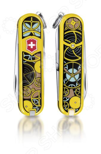 Нож перочинный Victorinox Classic LE 2014 0.6223.L1402 Swiss Clockwork