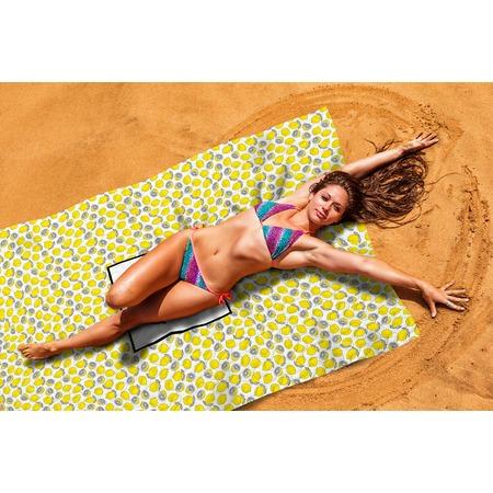 Купить Покрывало пляжное Сирень «Лимонный фреш»