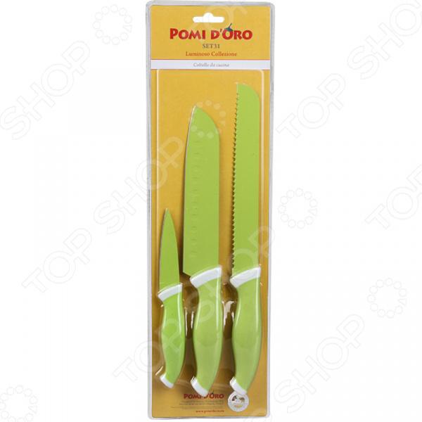 Набор ножей Pomi d'Oro SET31  набор ножей с выдвижными лезвиями matrix 78991