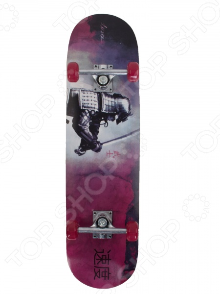 Скейтборд Larsen Street 3 колеса для скейтборда для скейтборда nomad crown logo black 102a 54 mm