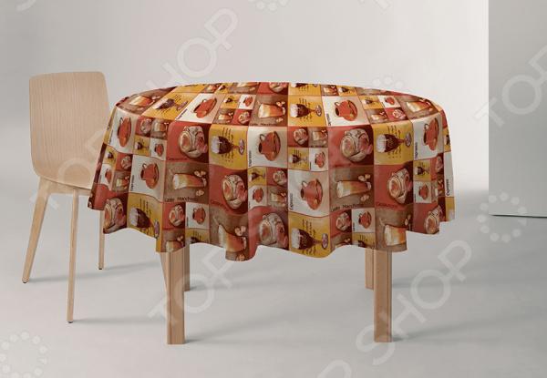 Скатерть круглая Protec Textil Alba скатерть protec textil alba кантри 140 160 см прямоугольная