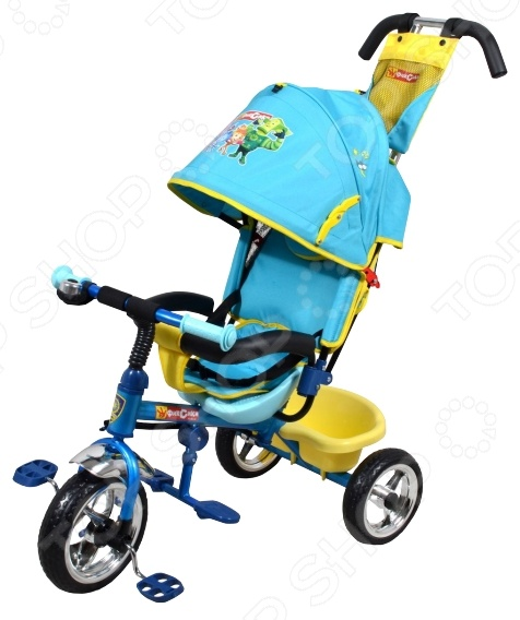 Велосипед трехколесный Navigator Lexus «Фиксики» велосипед для малыша navigator lexus т55929 bordo