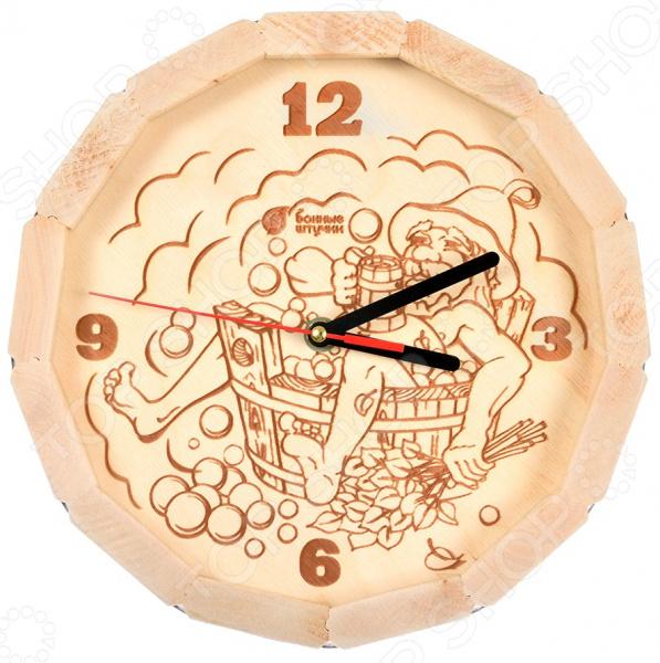 Часы для бани Банные штучки «В парилке» 39101