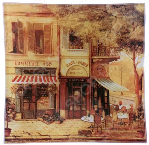 Тарелка десертная Gift'n'home «Парижское кафе» тарелка gift