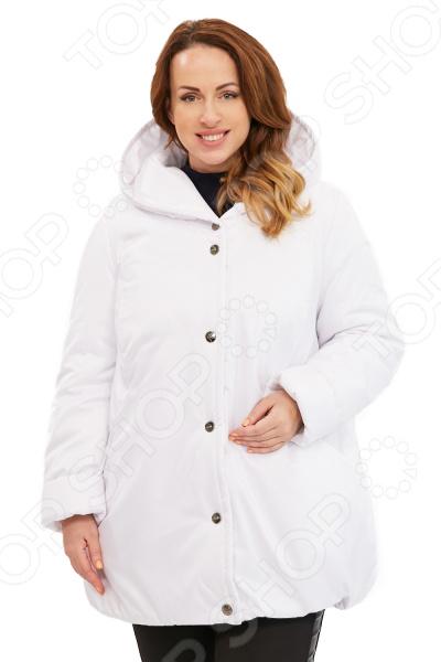 Куртка Гранд Гром «Зимняя ягода». Цвет: белый