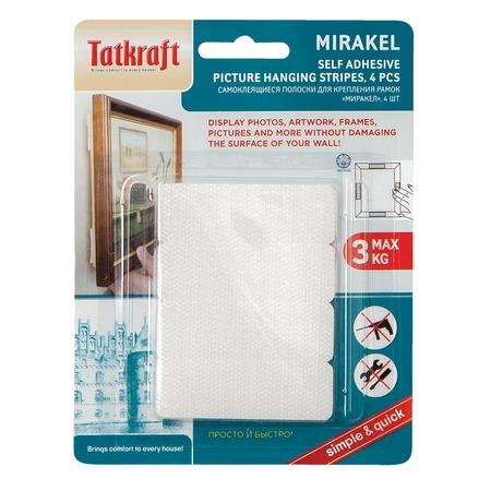 Купить Полоски-липучки для крепления рамок Tatkraft Mirakel