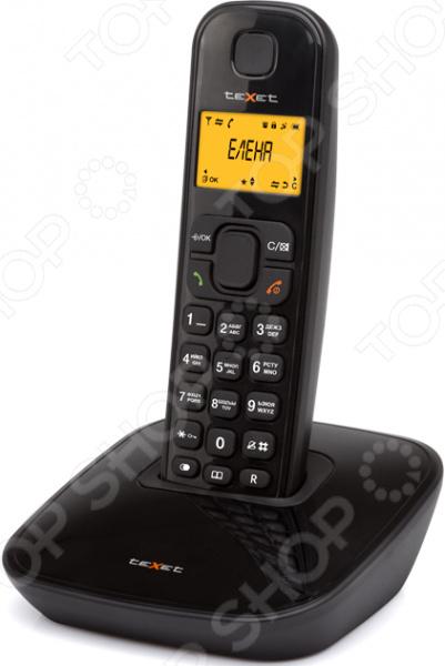Радиотелефон Texet TX-D6705А телефон проводной texet tx 201 белый