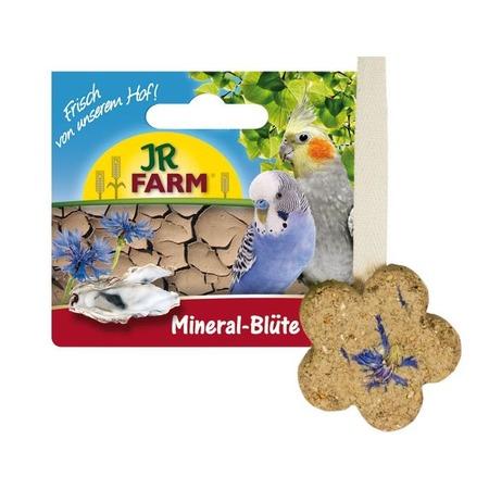 Камень минеральный для птиц JR Farm Mineral Bluete