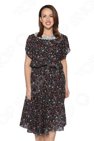 Платье «Сердечная женщина». Цвет: черный