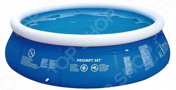 Бассейн надувной Jilong Prompt Set Pools 17540EU бассейны jilong prompt set pools 240х63 см с фильтр насосом