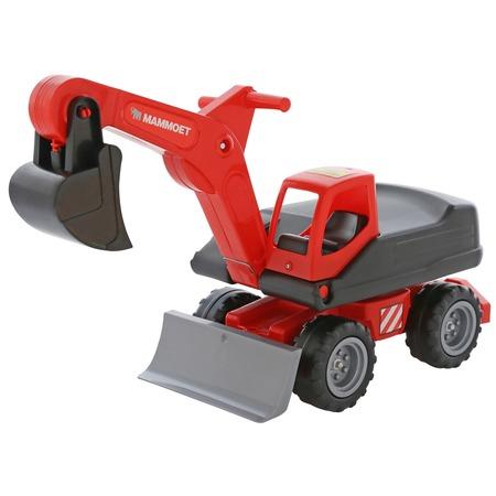 Купить Машинка игрушечная Wader MAMMOET «Мега-экскаватор колёсный»