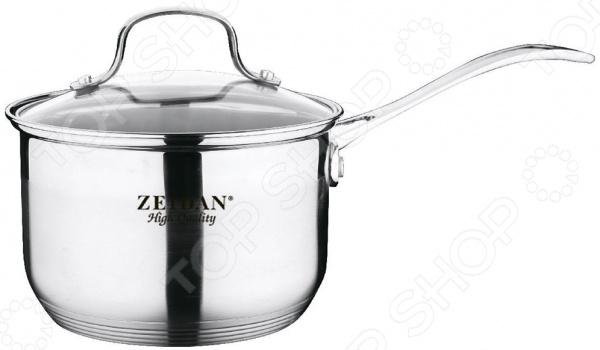Сотейник с крышкой Zeidan Z 50277 сотейник zeidan z 50277 16 см 1 8 л нержавеющая сталь