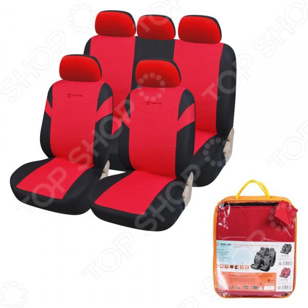 Набор чехлов для задних и передних сидений Airline RS-4k+