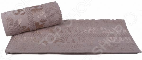 Полотенце махровое Hobby Home Collection Versal. Цвет: коричневый