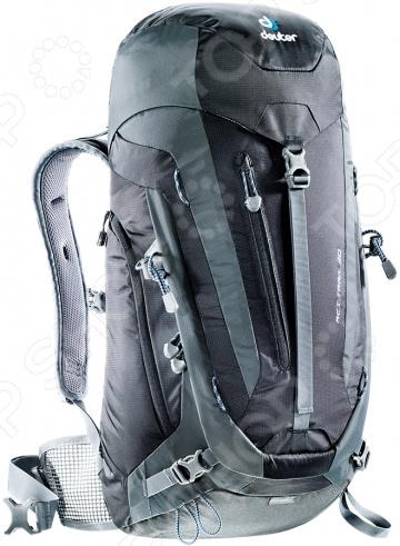 Deuter рюкзак extra long act trail 38 el black-granite меховые рюкзаки и сумочки для детей оптом