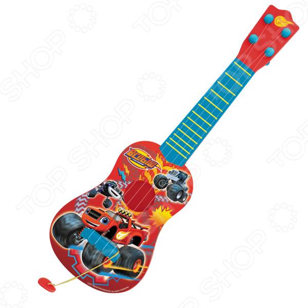 Гитара игрушечная Росмэн с медиатором «Вспыш»