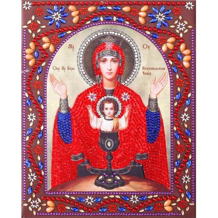 Купить Набор для творчества Color Kit «Алмазная живопись. Образ Пресвятой Богородицы Неупиваемая Чаша»