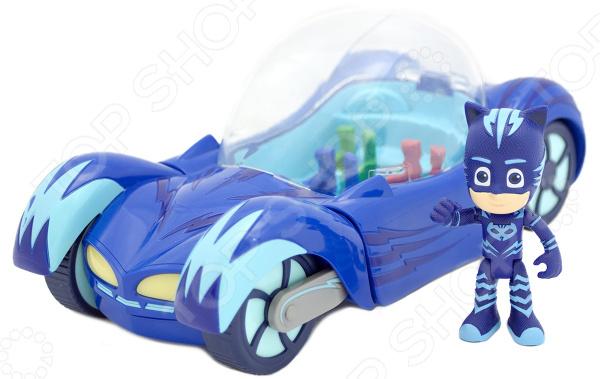 Машинка игрушечная с фигуркой PJ Masks «Котмобиль»