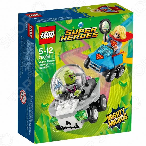 Конструктор игровой LEGO Super Heroes Mighty Micros «Супергерл против Брейниака» lego education 9689 простые механизмы