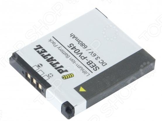 Аккумулятор для камеры Pitatel SEB-PV045 для Canon Digital IXUS 125/240 HS, 680mAh