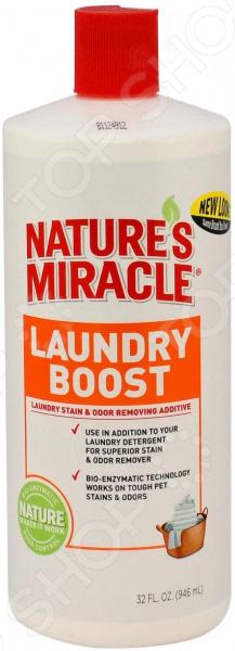 Уничтожитель пятен и запахов от животных Laundry Boost