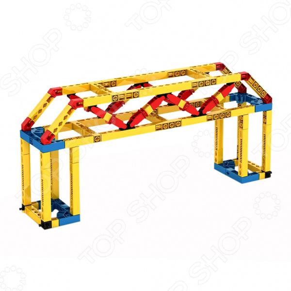 Фото - Конструктор игровой Engino Mechanical Science «Мосты и сооружения» конструктор автомобильный парк 7 в 1