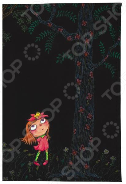 Обложка для автодокументов Mitya Veselkov «Девочка в розовом платье ночью»