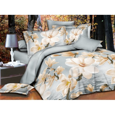 Купить Комплект постельного белья Pandora «Цветы на воде». 1,5-спальный