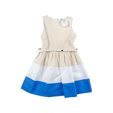 Купить Детское платье Besta Plus Fenomeno. Цвет: бежевый