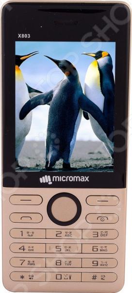 Мобильный телефон Micromax X803 мобильный телефон micromax x803 black