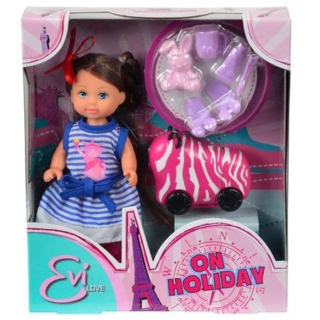 Купить Кукла Simba «Еви с чемоданом на колесиках». В ассортименте