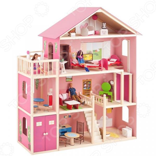 Кукольный дом с аксессуарами PAREMO «Мечта»