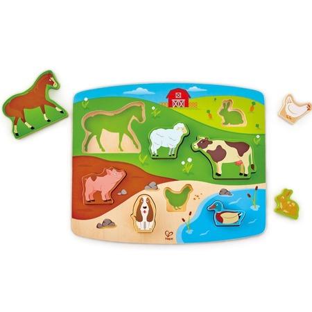 Купить Вкладыши Hape «Животные»