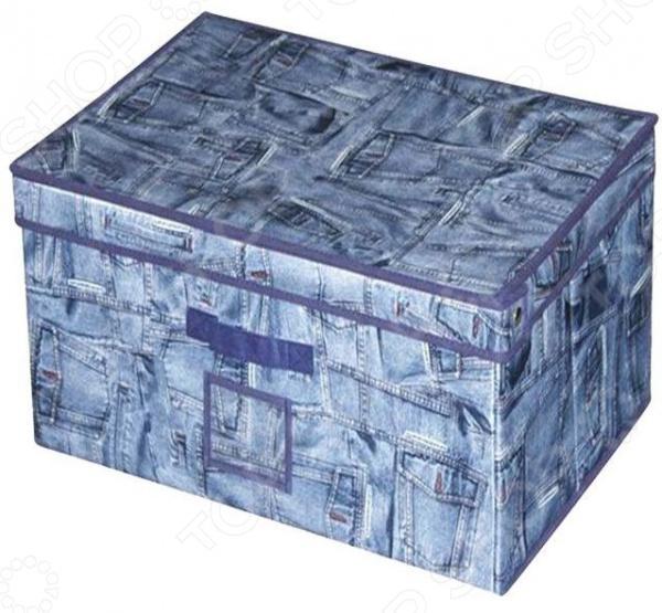Кофр для хранения Miolla 2507023U. В ассортименте бокс для хранения вещей kiss the plastic industry