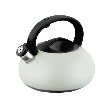 Купить Чайник со свистком Endever Aquarelle с темной ручкой