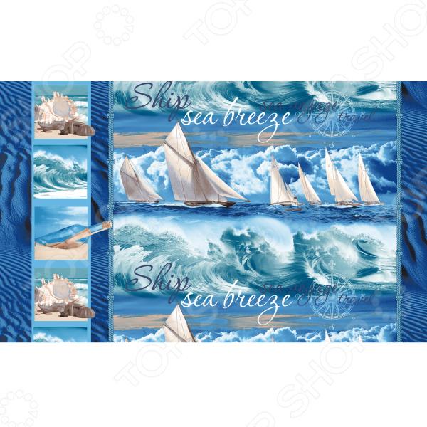 Полотенце банное вафельное ТексДизайн «Морской бриз» полотенце банное вафельное тексдизайн с легким паром