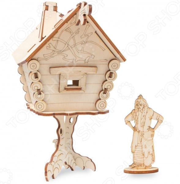 Конструктор деревянный Disney «Избушка Бабы-Яги. Последний богатырь»