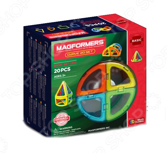 Конструктор магнитный Magformers Curve 20