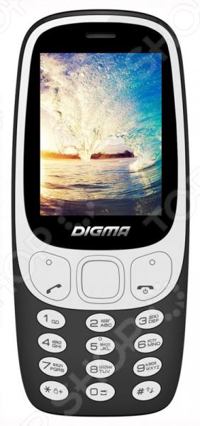 Мобильный телефон Digma Linx N331 2G телефон dect gigaset l410 устройство громкой связи